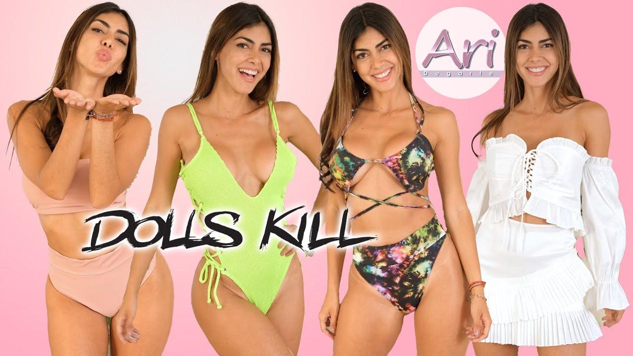 DOLLS KILL Bikini Try On Haul – #BikiniTryOnHaul