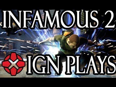 IGN Plays: Infamous 2 - UCKy1dAqELo0zrOtPkf0eTMw