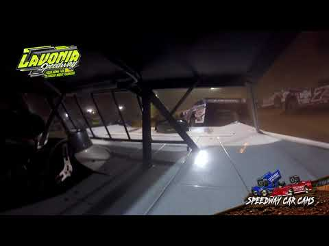#44 Chris Madden - World of Outlaws - 9-3-21 Lavonia Speedway - In-Car Camera - dirt track racing video image