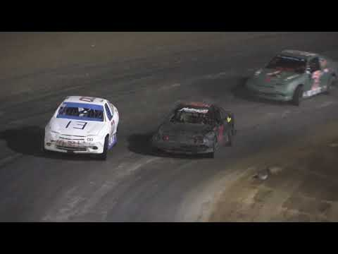 Flinn Stock A-Feature at Crystal Motor Speedway, Michigan on 09-18-2021!! - dirt track racing video image