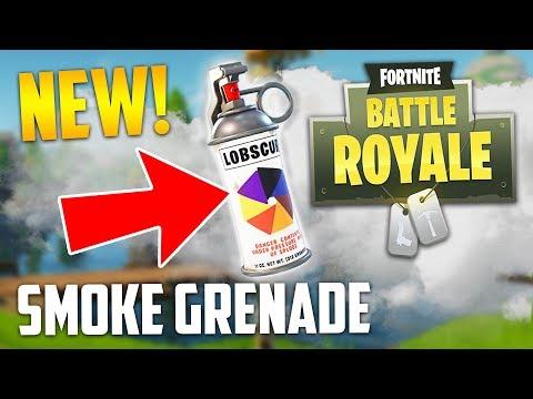 NEW SMOKE GRENADE UPDATE!! (Fortnite Battle Royale) - UC2wKfjlioOCLP4xQMOWNcgg