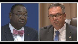 Mayor Randy Toms secret recording clip: Toms threatens to call FBI