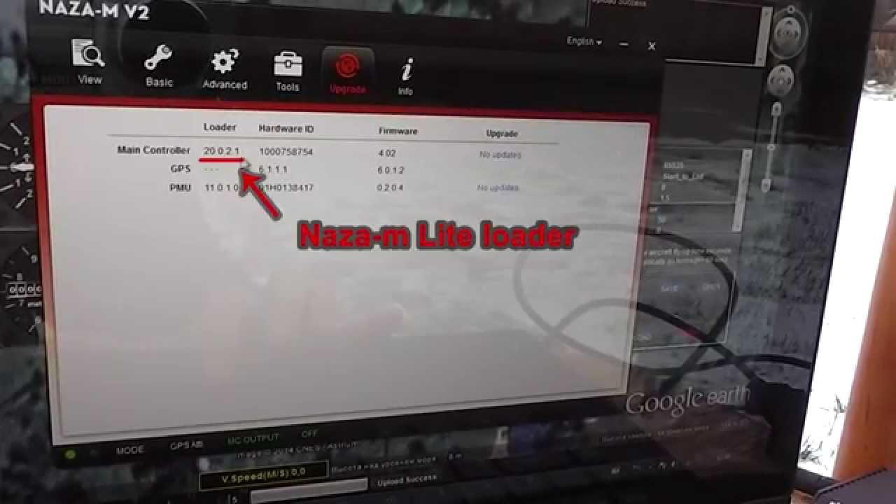 Using dji naza-m v2 3. 12 new firmware with dji naza-m v1 youtube.