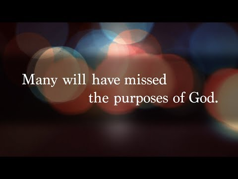 Don't Miss Your Purpose - Tony Evans
