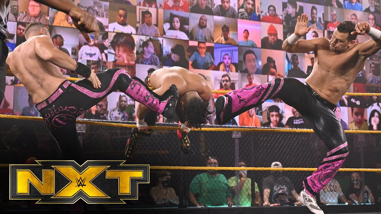 Breezango vs. Legado del Fantasma: WWE NXT, March 17, 2021