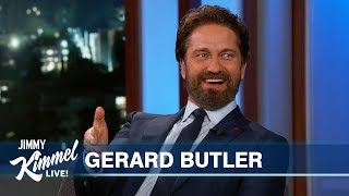 Gerard Butler on Morgan Freeman, Nick Nolte, Michael Cohen & Malibu Fire
