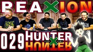 Hunter x Hunter #29 REACTION!!