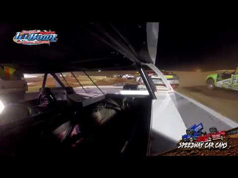 #7X Tucker Byrd - Factory Stock - Ice Bowl 2021 - Talladega Short Track - In-Car Camera - dirt track racing video image