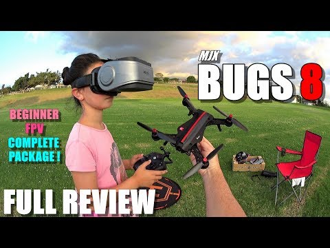MJX BUGS 8 - Full Review - Best & most affordable? Entry Level 250 FPV RTF Race Drone - UCVQWy-DTLpRqnuA17WZkjRQ