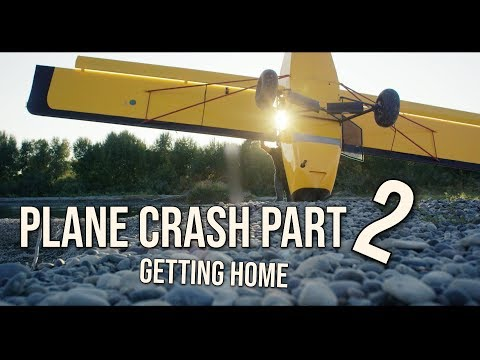 PLANE CRASH PART 2. Getting my Kitfox airplane back to the airport. skip to 2:43 to continue - UCYLa9ejusfcUu_D2y_XvM9Q