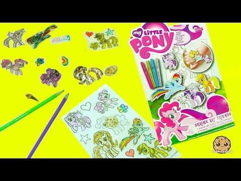 My Little Pony Rainbow Dash, Pinkie Pie, Twilight, MLP Shrinky Drink Art Maker Shrink in Oven - UCelMeixAOTs2OQAAi9wU8-g