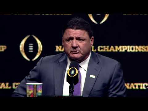 #CFBPlayoff #NationalChampionship Head Coaches News Conference