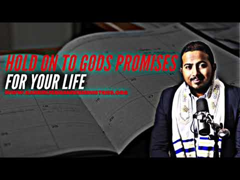 HOLD ON TO GOD'S PROMISES & WORD FOR YOUR LIFE, SHORT SERMON AND PRAYER BY EV. GABRIEL FERNANDES
