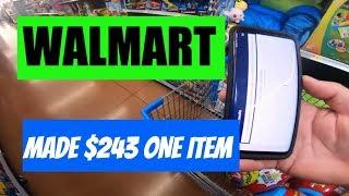 Walmart Retail Arbitrage Clearance Pulling 😱$234 Profit One Item
