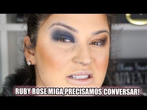 TESTANDO MAIS LANÇAMENTOS DA RUBY ROSE  | Duda Fernandes