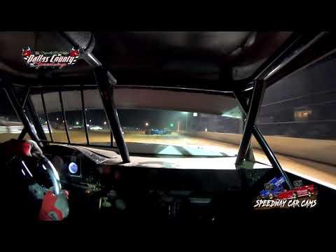 #21 Darren Phillips - Usra Stock Car - 4-30-2021 Dallas County Speedway - In Car Camera - dirt track racing video image