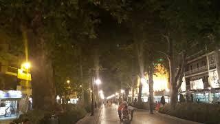 Popular street of Granada