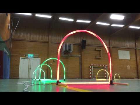 Drone racing LED gates - UCfXM9ZK11rAFBOaJrYxUNVA