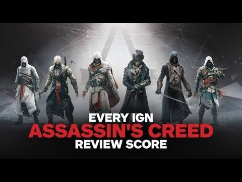 EVERY IGN Assassin's Creed Review Score - UCKy1dAqELo0zrOtPkf0eTMw