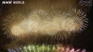 Tenchijin Fireworks at Nagaoka Festival, Niigata [4K UHD]