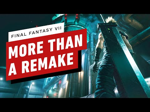 Final Fantasy 7 Preview - It's More Than a Remake - UCKy1dAqELo0zrOtPkf0eTMw