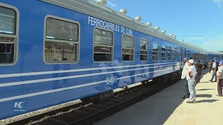 With Chinese trains rolling, Cuba starts revamping railway system