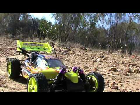 New HSP RC CAR 1/10 2.4ghz 2Speed Nitro 4WD Off-Road Buggy Review 2013 Part 2 - UCad4Amz-PVkX2Cm7oDXJgng