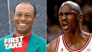 Tiger Woods, not Michael Jordan, is the most electric athlete of all time - Ryan Clark | First Take