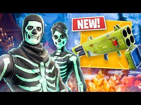 *NEW* Quad Launcher Gameplay & Skull Trooper/Skull Ranger Skins!! (Fortnite LIVE Gameplay) - UC2wKfjlioOCLP4xQMOWNcgg