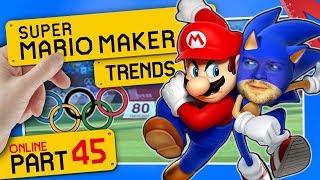 OLYMPISCHE SPIELE in SMM2?! 👷 SUPER MARIO MAKER 2 ONLINE #45