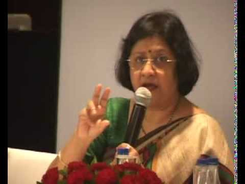 Arundhati Bhattacharya at the Urban Infrastructure Conference