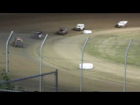 Grays Harbor Raceway Dwarf Car Main Event Fred Brownfield Classic Night #1 June 19th, 2021 - dirt track racing video image