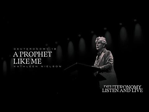 Kathleen Nielson  A Prophet Like Me  Deut 18:15-22  TGCW18