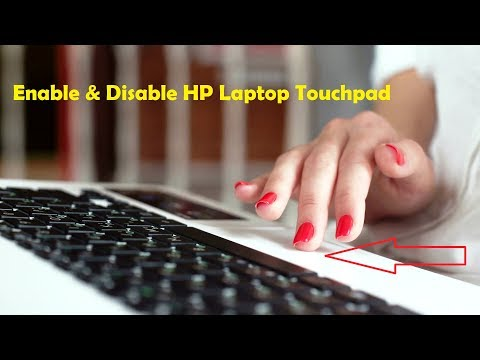 Quickly Enable & Disable Touchpad on HP Laptops