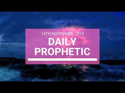 Daily Prophetic 14 November Word 5