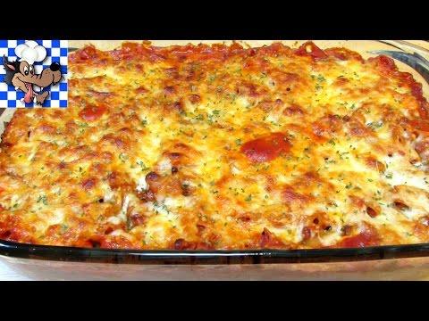 Baked Chicken and Penne Pasta Casserole - $10 Budget Meal Series - UCnJm8wC-ABOvOn2piAt2WYg