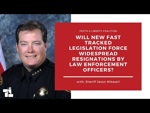 New Fast Track Legislation Creates Concern For Widespread Resignations of Law Enforcement Officers