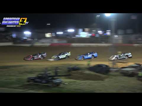 Trail-Way Speedway   2nd Annual Junior Eckert Memorial ULMS Feature   7/16/21 - dirt track racing video image