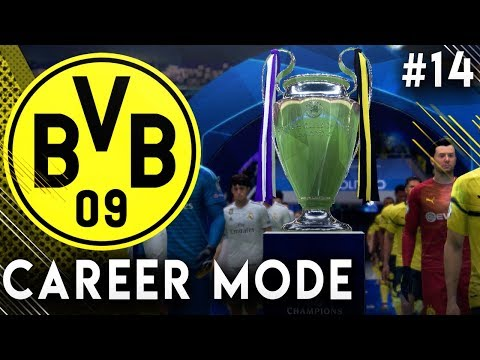 FIFA 19 Borussia Dortmund Career Mode EP14 - Champions League Final!!