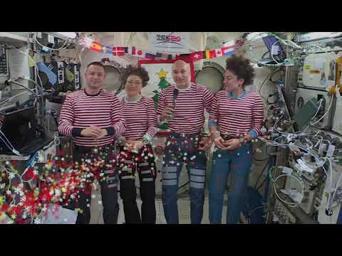 Christmas in Space - Astronauts Beam Down Message for Holidays - UCVTomc35agH1SM6kCKzwW_g