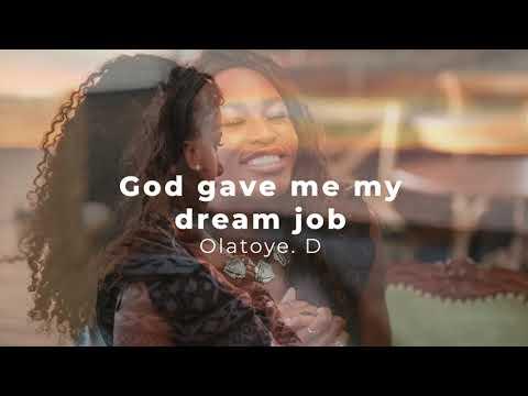 How God heard my prayers and gave me my dream job  Testimonies at The Elevation Church