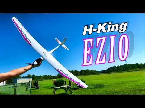 H-King EZIO 1500mm EP RC Glider 30+ Minute Flight on 1300 Mah Battery - TheRcSaylors - UCYWhRC3xtD_acDIZdr53huA