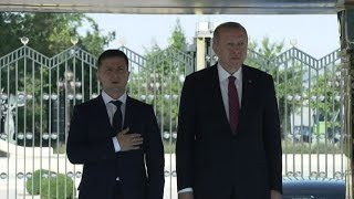 Ad Ankara Erdogan riceve il presidente ucraino Zelensky