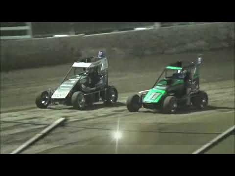 Pole Shuffle for the 2019 Queensland Speedcar Title at Castrol Edge Lismore Speedway. 19.01.19 - dirt track racing video image