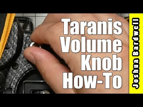 FrSky Taranis Volume Knob | X9D QX7 X10S Horus X12 and other OpenTX Radios - UCX3eufnI7A2I7IkKHZn8KSQ