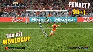 PES 19 | FIFA WORLDCUP | VÒNG BÁN KẾT | VIETNAM vs NETHERLANDS - Giấc mơ Bóng Đá VIỆT NAM (13/2)
