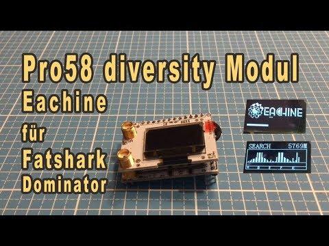 Eachine Pro58 diversity Empfänger nicht nur für  Fatshark Dominator - UCpgRQeayew4MmAYW5Nq8A-w