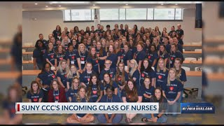 SUNY CCC's incoming nursing students