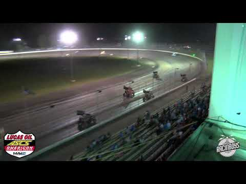 Lucas Oil ASCS highlights Lakeside Speedway 8 3 21 - dirt track racing video image