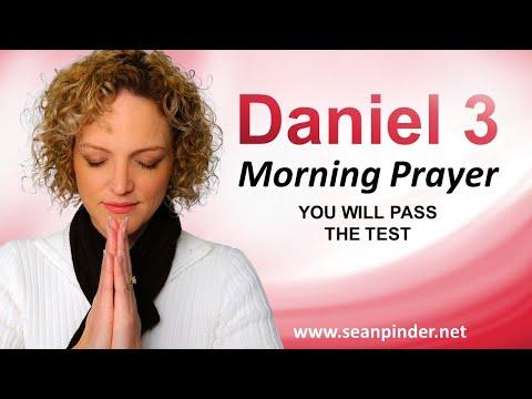 You Will PASS the TEST - Daniel 3 - Morning Prayer